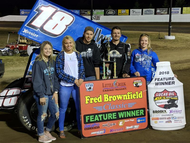 Jason Solwold won the Fred Brownfield Memorial opener Friday (Lisa Dynes Photo)