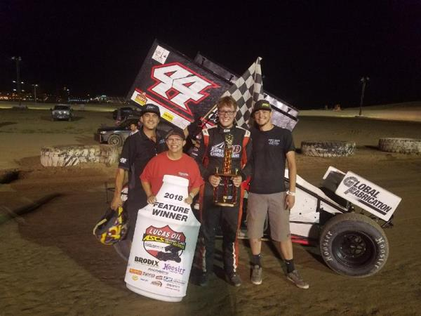 Chris Martin Breaks Through with the Lucas Oil American Sprint Car Series in Wyoming