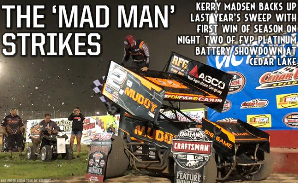Kerry Madsen Wins Exciting Finale of FVP Platinum Battery Showdown at Cedar Lake