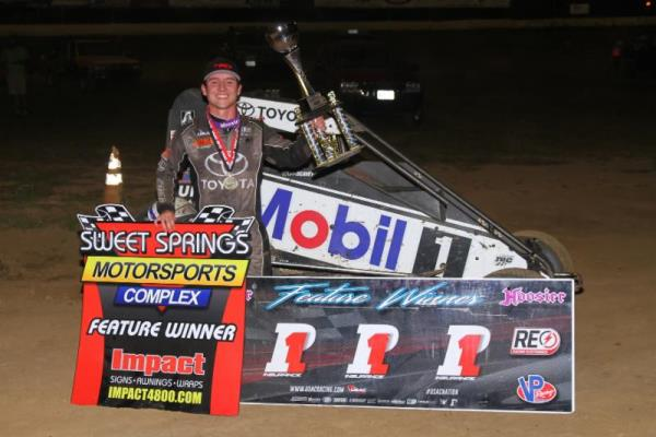 Rookie Sensation Seavey a Bridesmaid No More with Sweet Springs Score