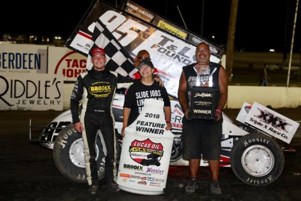 Matt Covington Tops Lucas Oil ASCS Brandt Agricultural Showdown at Brown County Speedway